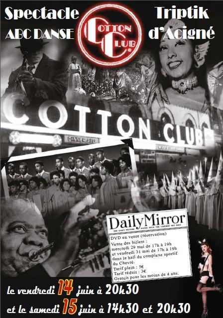 Affiche cotton club